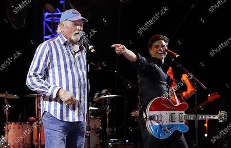 Redaktionelt billede af Concerts In Your Car - The Beach Boys, Ventura, United States - 23 Oct 2020
