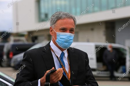 Chase Carey, Chief Executive Officer of the Formula One Group; Algarve International Circuit, Portimao, Portugal; Formula One, Portugal Grand Prix, Race Day.