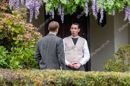 Editorial picture of 'Grantchester' TV show filming, Cambridge, UK - 23 Oct 2020