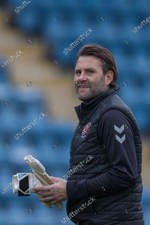 Stock Image of David Lucas, Goalkeeping Coach of Fleetwood Town FC ahead of the EFL Sky Bet League 1 match between Gillingham and Fleetwood Town at the MEMS Priestfield Stadium, Gillingham