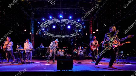 Editorial picture of The Beach Boys with special guests John Stamos and Mark Mcgrath, CBF Productions Concerts in Your Car, Ventura, California, USA - 23 Oct 2020