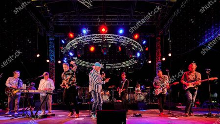 The Beach Boys include Mike Love lead vocal , Bruce Johnston frontline keys,Scott Totten lead guitar and musical director,Christian Love frontline guitar and vocals, Brian Eichenberger guitar and vocals, Keith Hubacher bass, John Cowsill drums, Tim Bonhomme keys and Randy Leago on sax  with special guests  John Stamos and Mark McGrath