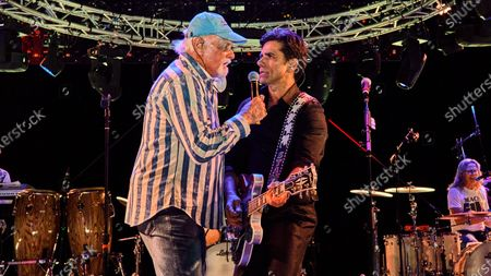 Mike Love and John Stamos