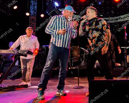 Bruce Johnston,  Mike Love and Mike McGrath
