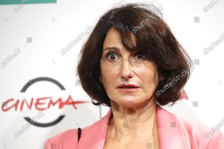 """Actress Lorenza Indovina poses for photographers during the photo call for the movie """"Cosa Sarà"""" at the Rome Film Festival, in Rome"""