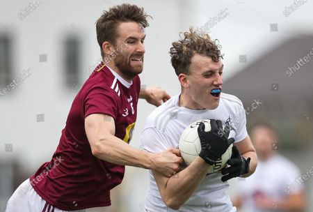 Kildare vs Westmeath. Kildare's Darragh Kirwan and Kevin Maguire of Westmeath
