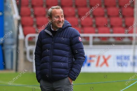 Charlton Athletic manager Lee Bowyer, during the EFL Sky Bet League 1 match between Northampton Town and Charlton Athletic at the PTS Academy Stadium, Northampton