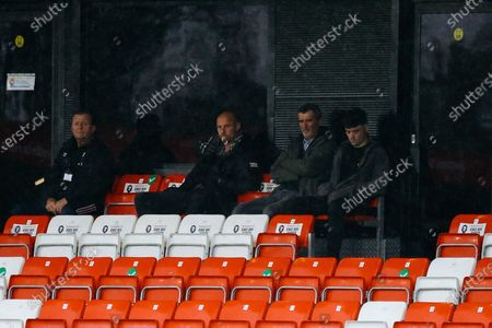 Roy Keane watches on 0-0 during EFL League 2 match between Salford City and Crawley Town at the Peninsula Stadium, Salford