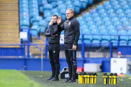Sheffield Wednesday Manager Garry Monk gesticulates  during the EFL Sky Bet Championship match between Sheffield Wednesday and Luton Town at Hillsborough, Sheffield