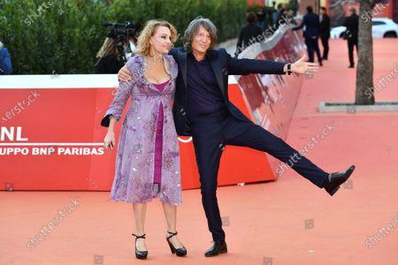 Antonella Ponziani e il fotografo Fabio Schifino