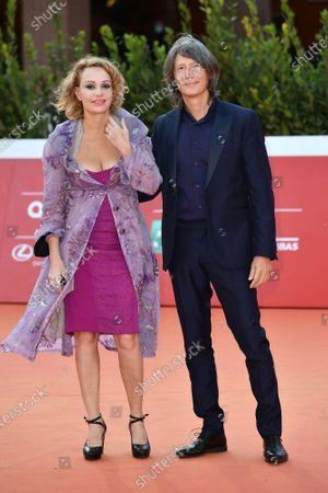 Stock Image of Antonella Ponziani e il fotografo Fabio Schifino