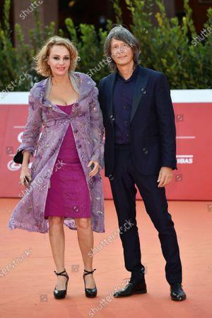 Stock Photo of Antonella Ponziani e il fotografo Fabio Schifino
