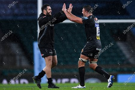Editorial picture of Exeter Chiefs v Wasps, UK - 24 Oct 2020