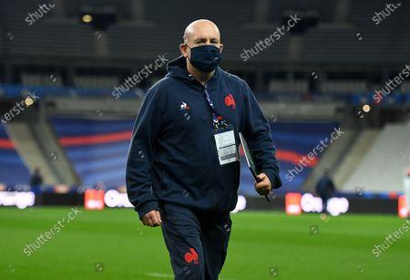France defence coach Shaun Edwards.