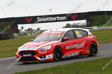 SNETTERTON, UNITED KINGDOM - OCTOBER 24: Andy Neate (GBR) - Motorbase Performance Ford Focus during the Snetterton at Snetterton on October 24, 2020 in Snetterton, United Kingdom. (Photo by LAT Images)