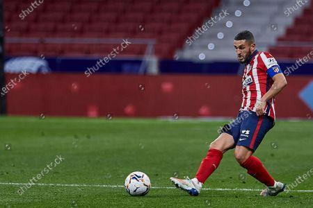 Koke Resurreccion of Atletico de Madrid