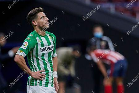 Alex Moreno of Real Betis
