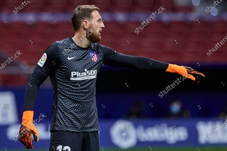Photo libre de droits de Jan Oblak of Atletico de Madrid