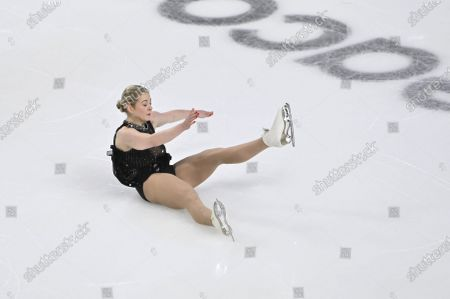 Editorial image of Skate America Figure Skating, Las Vegas, United States - 24 Oct 2020