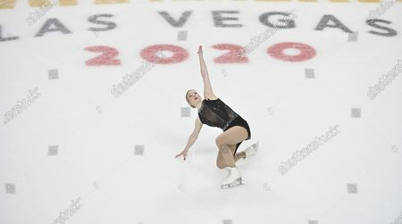 Editorial picture of Skate America Figure Skating, Las Vegas, United States - 24 Oct 2020