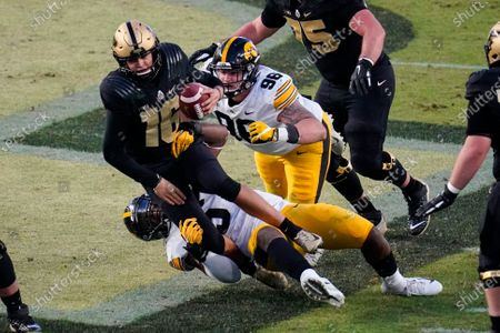 Editorial picture of Iowa Purdue Football, West Lafayette, United States - 24 Oct 2020
