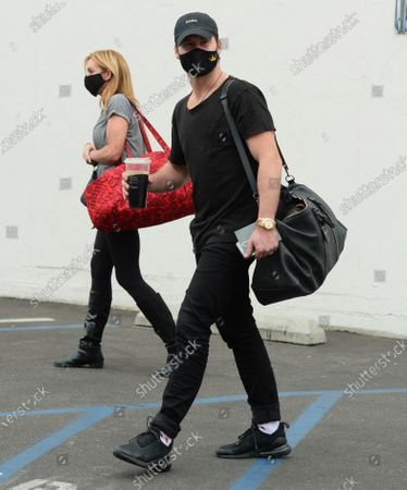 Editorial image of 'Dancing with the Stars' TV show rehearsal, Los Angeles, USA - 24 Oct 2020