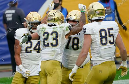 Editorial picture of Notre Dame Football, Pittsburgh, United States - 24 Oct 2020
