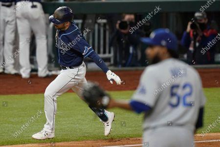 Editorial image of World Series Dodgers Rays Baseball, Arlington, United States - 24 Oct 2020