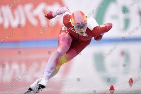 Sumire Kikuchi - Speed Skating : The 27th All Japan Speed Skating Single Distance Championships Women's 1000m at M-Wave in Nagano, Japan.