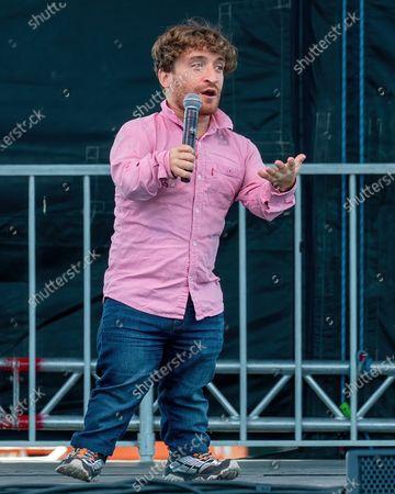 Nic Novicki performs at the H-E-B Center on October 24, 2020 in Cedar Park, Texas.