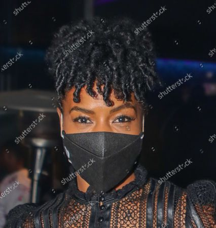 Stock Photo of Brandee Evans