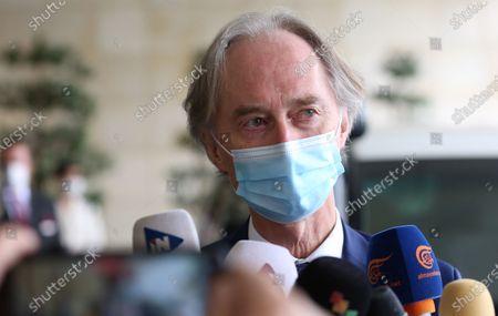 Editorial image of UN Special Envoy Pedersen in Damascus, Syria - 25 Oct 2020
