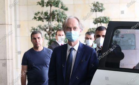 Editorial photo of UN Special Envoy Pedersen in Damascus, Syria - 25 Oct 2020