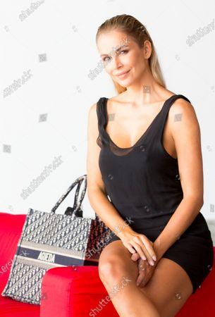 Editorial photo of Agueda Lopez photoshoot, Swim Fashion Week by Moda Calida, Expomeloneras, Las Palmas de Gran Canarias, Canary Island, Spain - 24 Oct 2020