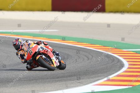 MOTORLAND ARAGON, SPAIN - OCTOBER 25: Stefan Bradl, Repsol Honda Team during the Teruel GP at Motorland Aragon on October 25, 2020 in Motorland Aragon, Spain. (Photo by Gold and Goose / LAT Images)