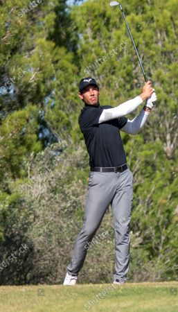 Editorial image of Rafa Nadal competes in a golf tournament in Majorca, Llucmajor Mallorca, Spain - 25 Oct 2020