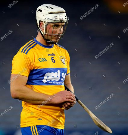 Clare vs Limerick. Clare's Pat O'Connor dejected after the game