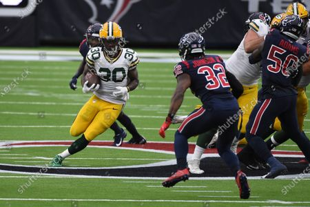Editorial picture of Packers Texans Football, Houston, United States - 25 Oct 2020