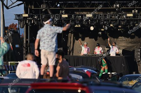 Editorial image of Major Lazer presents 'Music Is The Weapon' Drive-In Tour, Burlingame, California, USA - 24 Oct 2020