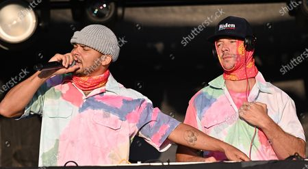 Stock Photo of Walshy Fire and Diplo of Major Lazer