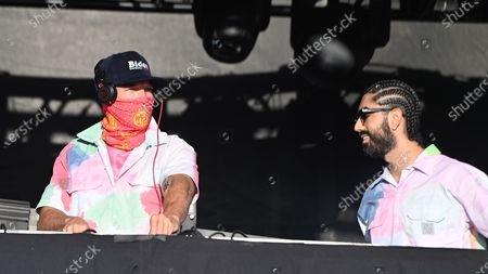 Stock Picture of Diplo and Jillionaire of Major Lazer