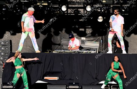 Editorial photo of Major Lazer presents 'Music Is The Weapon' Drive-In Tour, Burlingame, California, USA - 24 Oct 2020