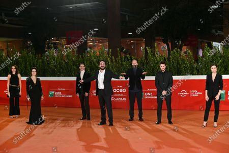 Director Matteo Rovere, Vanessa Scalera, Ivana Lotito, Francesco Di Napoli, Sergio Romano, Andrea Arcangeli, Marianna Fontana