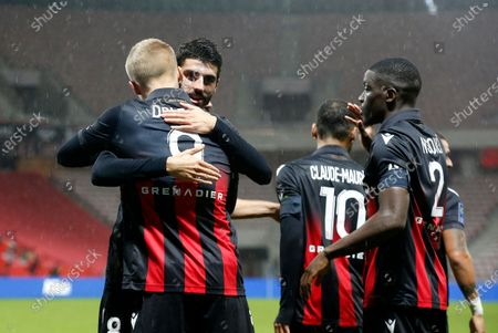 Editorial image of OGC Nice vs Lille OSC, France - 25 Oct 2020