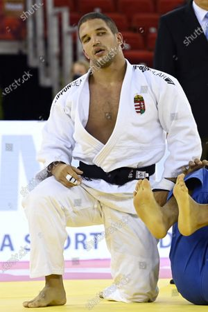 Editorial picture of Judo Grand Slam in Budapest, Hungary - 25 Oct 2020
