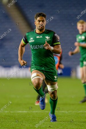 Jarrad Butler (#7) of Connacht Rugby during the Guinness Pro 14 match between Edinburgh Rugby and Connacht Rugby at BT Murrayfield, Edinburgh