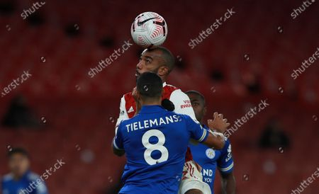 Editorial image of Arsenal FC vs Leicester City, London, United Kingdom - 25 Oct 2020