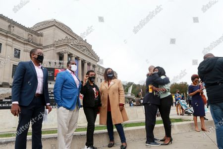 Editorial picture of Early Voting at the Brooklyn Museum, New York, USA - 24 Oct 2020