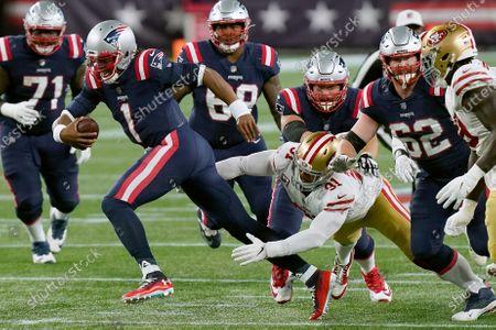 Redactionele foto van 49ers Patriots Football, Foxborough, United States - 25 Oct 2020