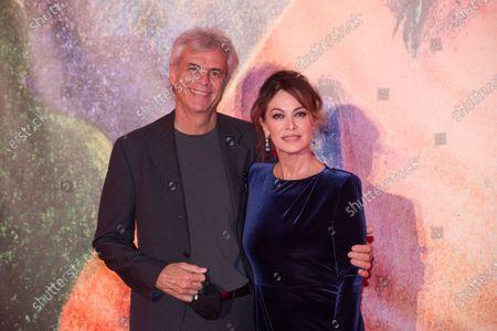 Stock Picture of Elena Sofia Ricci and Stefano Mainetti